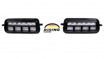Lada Niva 2121 LED daylights Headlights DRL + Relay 4x4 URBAN