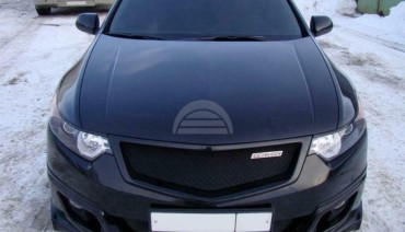 Front grill for Honda Accord 8 CU / Acura TSX radiator tuning sport mesh grille