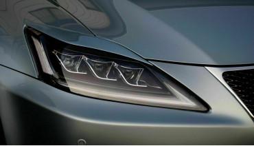 Eyelids eyebrows for Lexus IS 2gen 05-12 Headlights Covers eyelash is250/350/ISF