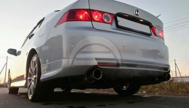 Rear lip Modulo Style for Honda Accord 7 Acura TSX CL7 03-05 Body Kit Splitter