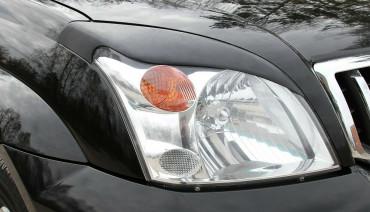 Eyelids eyebrows for Toyota Land Cruiser Prado 120 03-09