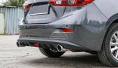 Rear bumper diffuser for Mazda 3 BM / Axela 2013 - 2019