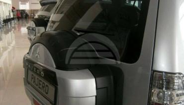 Tire Cover for Mitsubishi Pajero 4 Montero Shogun Tail Spare Tyre Wheel Hard Bag