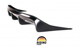 Rear Diffuser for Mitsubishi Lancer X 2007-2013 Pad Lip rear splitter body kit