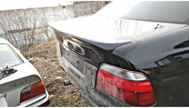 Ducktail CSL spoiler for BMW 5 e39 M5 sedan rear boot trunk lip wing duckbill