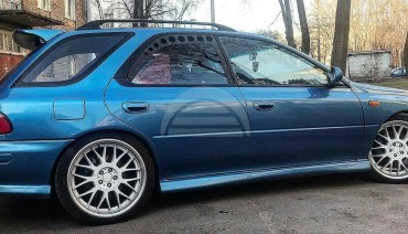 Rear Window Vents for Subaru Impreza GC 97-01 Mesh Plastic 2pcs Pair Sedan Wagon