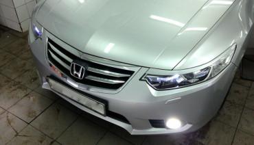 Eyelids eyebrows for Honda Accord VIII 8 Acura TSX CU2 Headlights Covers eyelash
