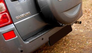 Rear bumper trim for Suzuki Grand Vitara 2005-2012 plate sill protector cover