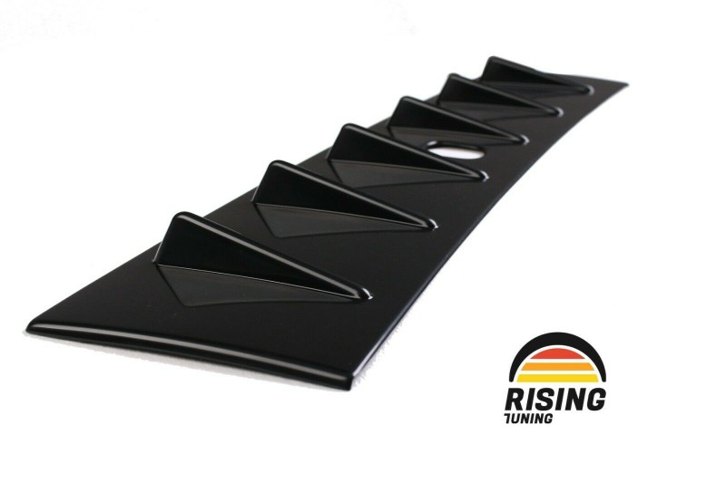 Rear window lip spoiler for Mitsubishi Lancer X 2007-2017 roof cover pad visor