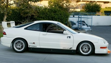 Aluminum Side Skirts 4' for Honda Integra Acura 94-01 DC2 3dr PСI Time Attack