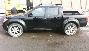 Fender flares for Nissan Navara Frontier Restyle Wheel Arch Extensions Extenders