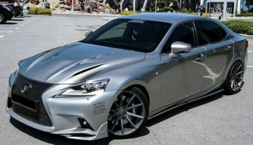 Eyelids eyebrows for Lexus IS III gen 2013-2016