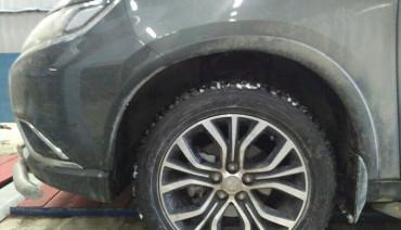 Lift Kit for Mitsubishi Outlander XL2 Delica D5 1,6' 40mm Leveling strut spacers