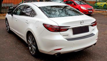 Rear bumper trim for Mazda 6 / Atenza GL 2018-2020 plate sill protector cover