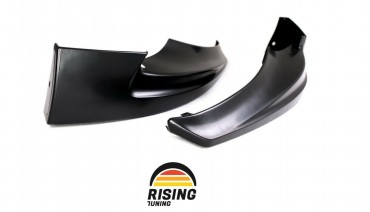 Front Fangs for Mazda 6 / Atenza GJ 2015 - 2017 Facelift bumper lip spoiler