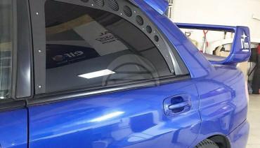 Rear Window Vents for Subaru Impreza Sedan GD 01-07 Mesh Plastic 2pcs Pair Sti