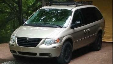 Front strut spacers for Chrysler Town & Country Voyager Dodge Caravan 1.6' 40mm