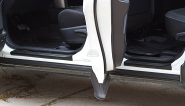 Door Sill Trim for Toyota Rav4 2015-2018 XA40 Threshold Plates Protector Cover