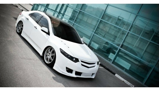 Modulo front grill for Honda Accord 8 CU Acura TSX radiator tuning mesh grille