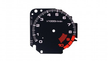 Gauge Faces Type-R style for Honda Civic Ek VTI Si