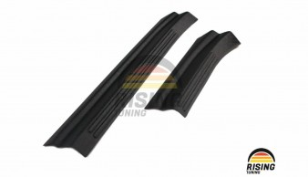 Door Sill Trim for VW Tiguan 16-20 Volkswagen Threshold Plates Protector Cover