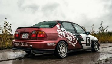 Rear VTI Lip for Honda Civic Sedan Ek 96-99 Diffuser Pad splitter body kit