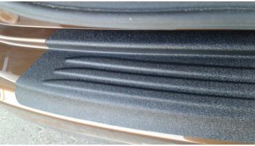 Rear bumper trim for KIA Sportage 2016-2018 plate sill protector cover