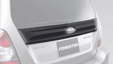 Rear Middle Tail Spoiler for Subaru Forester SG 05-08 5-door Tail Gate Center