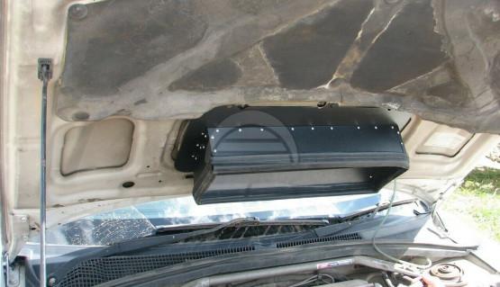 Hood Scoop Splitter for Subaru Forester SG 02-08 with GDB Intercooler STI Scoop