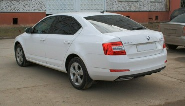 Covers Imitating Exhaust for Skoda Octavia A7 2013-2019 RS Style tuning