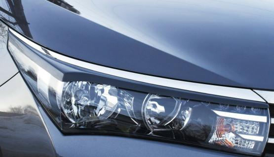 Eyelids eyebrows for Toyota Corolla 2012-2016 Headlights cover eyelash