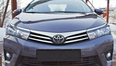 Eyelids eyebrows for Toyota Corolla 2012-2016 Headlights cover eyelash