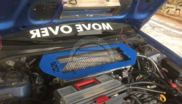 Hood Scoop Splitter for Subaru Impreza GC GF 92-00 with GDB STi Engine Swap
