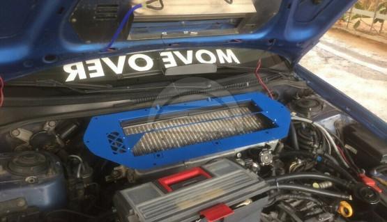 Hood Scoop  IC splitter for Subaru Impreza GC GF 92-00 with GDB STi Engine Swap