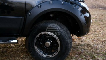 Fender flares for Mitsubishi L200 Triton 15-18 Wheel Arch Extension Extenders