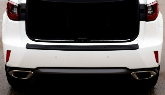 Rear bumper trim for Lexus RX200t RX450h RX350 16-20 plate sill protector cover