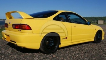 Rear bumper fangs Type-R Lip for Honda Integra Acura DC2 DC1 Line Side Aprons