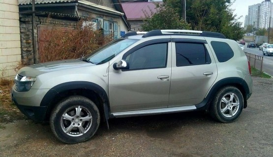 Fender flares for Dacia Duster Renault Duster Wheel Arch Extensions Extenders