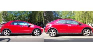 Lift Kit for Honda Civic 2005-2015 1,2' 30mm strut spacers hatchback coupe