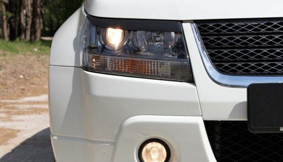 Eyelids eyebrows for Suzuki Grand Vitara / Escudo 05-16 Headlights cover eyelash