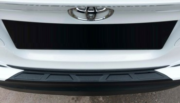 Rear bumper trim for Toyota C-Hr 2016-2021 plate sill protector cover