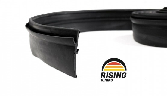 Rubber Fender Flares Wheel Trim Arch Extensions + tape 2 inch 50mm 4x4 Offroad