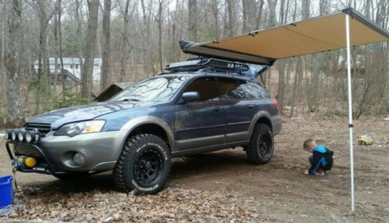 Lift Kit for Subaru Legacy Outback 2003-2009 1.6' 40mm Aluminium strut spacers