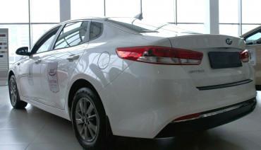 Rear bumper trim for KIA Optima 2018-2020 plate sill protector cover