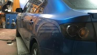 Rear Window Vents for Mazda 3 2003-2008 Sedan Axela BK Mesh Plastic 2pcs Pair