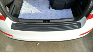 Rear bumper trim for Skoda Octavia A7 2013-2017 plate sill protector cover