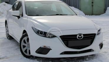 Eyelids eyebrows for Mazda 3 2013-2016 Headlights Covers eyelash Halogen only