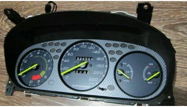 Gauge Faces Spoon style for Honda Civic Ek 96-00 Instrument Cluster Dashboard