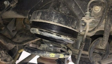 Rear coil spacers for Hyundai IX55 Santa Fe, Veracruz 1,6' 40 mm lift kit