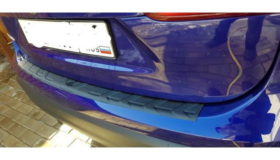 Rear bumper trim for Nissan Qashqai 2013-2017 plate sill protector cover